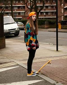 skater girl on Tumblr