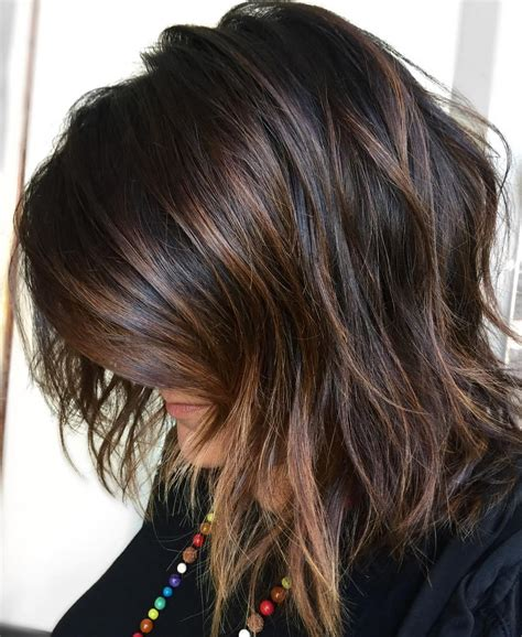 Hairstyles With And Brown Highlights by 50 Chocolate Brown Hair Color Ideas For Brunettes
