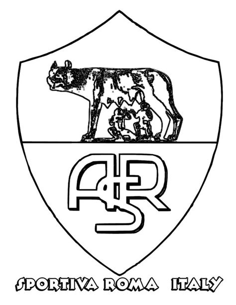 coloriage de football dessin  rome  colorier