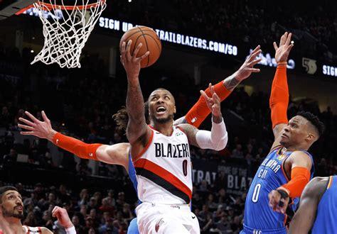 Oklahoma City Thunder vs. Portland Trail Blazers FREE Live ...