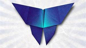 Origami Butterfly  Folding Instructions