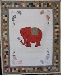 Free Elephant Applique Baby Quilt Pattern