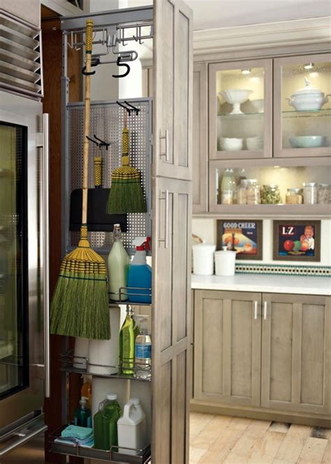 country decorating ideas broom closet