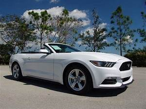 2015 Ford Mustang V6 V6 2dr Convertible for Sale in Pompano Beach, Florida Classified ...