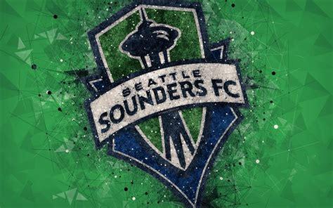 Download wallpapers Seattle Sounders FC, 4k, American ...