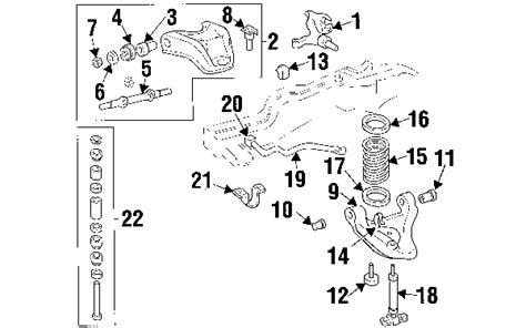 S10 4wd Suspension Diagram by 2001 Chevrolet S10 Parts Getchevygenuineparts