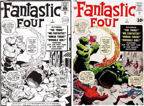 Changes To 1960s Marvel Covers  The Kirby Effect