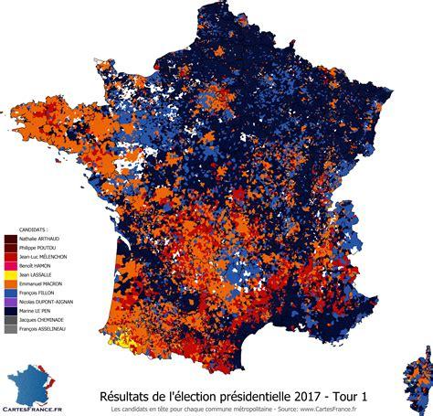 Carte De Des Elections 2017 Le Monde by Carte De Presidentielle Carte 2018
