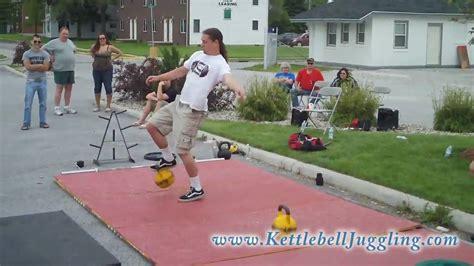 juggling kettlebell