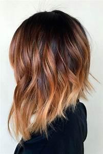 Ombré Hair Cuivré : 10 tintes ombre ideales para morenas de cabello corto ~ Melissatoandfro.com Idées de Décoration