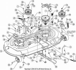 Troy Bilt Horse Xp  13yx79kt011   2016  Parts Diagram For Deck