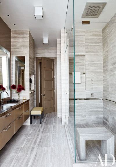 glamorous gray bathroom ideas architectural digest