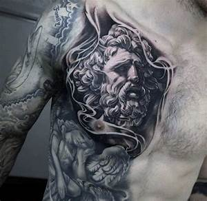 80 Zeus Tattoo Designs For Men - A Thunderbolt Of Ideas