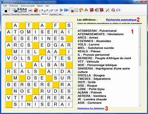 Pro Des Mots 318 : mots crois s pro g n rateur de grilles de mots fl ch s et crois s ~ Gottalentnigeria.com Avis de Voitures