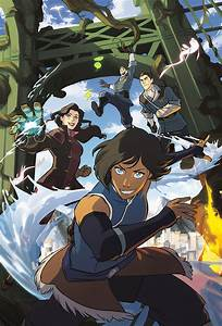 """NickALive!: """"The Legend Of Korra"""" To Continue As Graphic ...  Korra"""