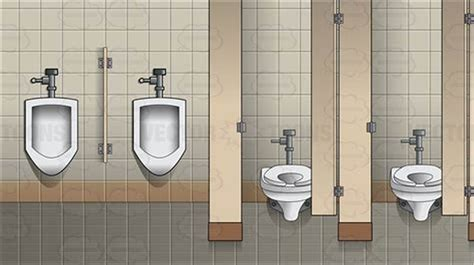 Glorious And Public Bathroom As Background Adult Photos 1080p