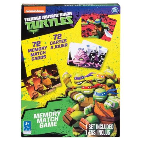 cardinal mutant turtles memory match 594 | 999999 778988656273
