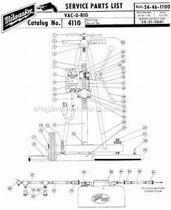 Milwaukee 4110 Parts List And Diagram   Ereplacementparts Com