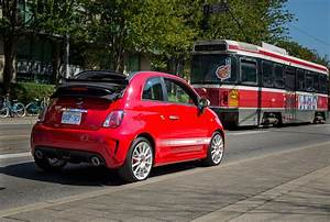 Quick Drive2015 Fiat 500 Abarth Cabrio Canadian Auto