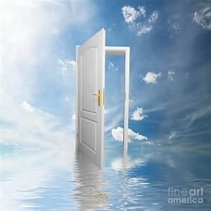 Door To Heaven Photograph by Michal Bednarek