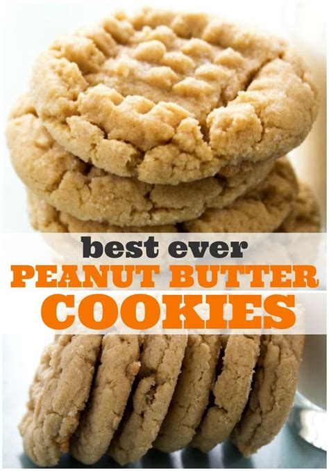 Best Peanut Butter Best Soft Peanut Butter Cookies Recipe Peanut