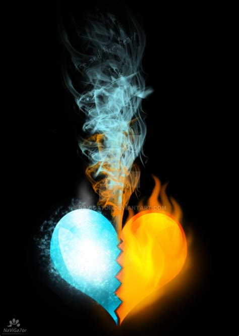 fire and ice artwork www imgkid com the image kid has it