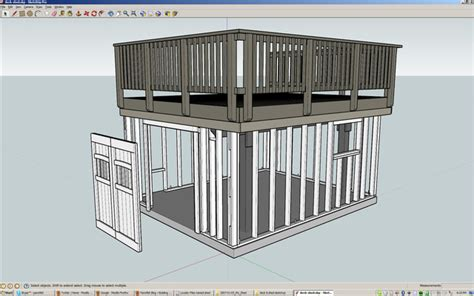 Building A Shed Under A Deck  Allan Lilly  Made By