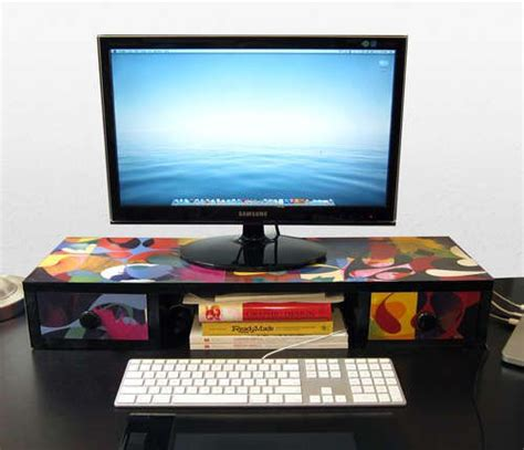 desk shelf diy desktop organizer diy computer desk diy