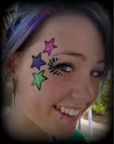 Easy Face Painting Stars