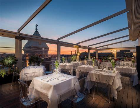 hotel con terrazza roma convenzione ristorante la terrazza de la griffe hotel roma