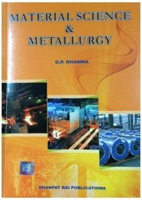 material science metallurgy   p khanna