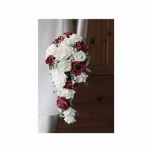 Bouquet De La Mariée : promotion bouquet mariage tombant th me blanc cass et ~ Melissatoandfro.com Idées de Décoration
