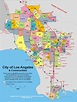 Map of Hollywood City, Tourist Maps: Los Angeles City Map ...