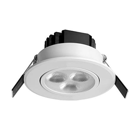 le 174 pack of 4 units 3w 3 inch led recessed lighting 30w
