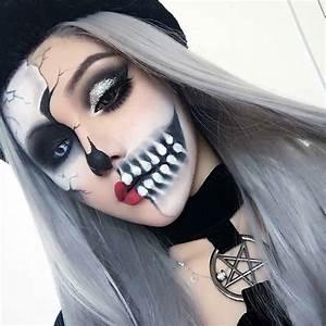 20 Increbles Ideas De Maquillaje Para El Prximo Halloween