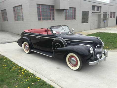 Chrysler Buick by 1940 Buick 4 Door Convertible Less Then 550 Made Chrysler