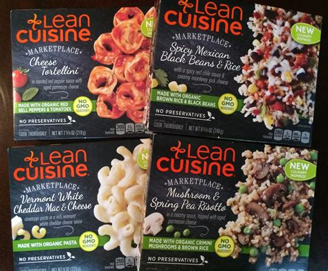 lean cuisine lean cuisine introduces non gmo frozen dinners review