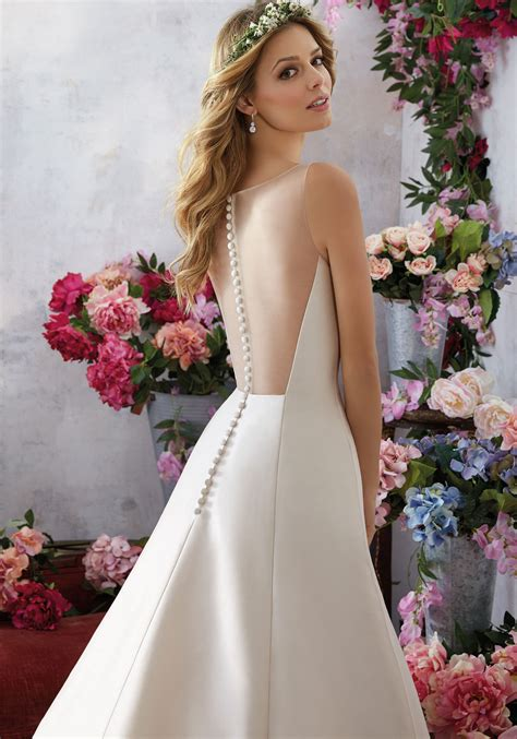 melody wedding dress style  morilee