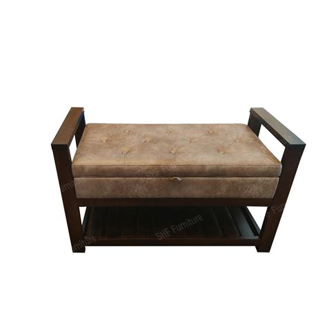 Upholstered Bench Chair by Upholstered Seat Wood With Storage Seat Pad Bench Chair