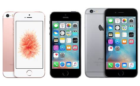 iphone 5s vs 6s apple iphone se vs iphone 5s vs iphone 6s ndtv