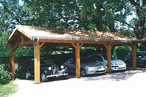 Abri Voiture En Bois : produits cihb am nagements en bois pour l 39 ext rieur ~ Nature-et-papiers.com Idées de Décoration