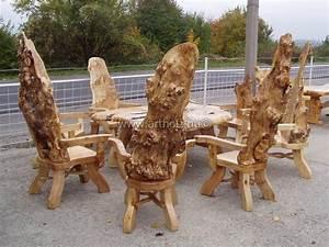 Himmelbett Für Garten : rustikale massivholzm bel garnituren f r esszimmer ~ Michelbontemps.com Haus und Dekorationen
