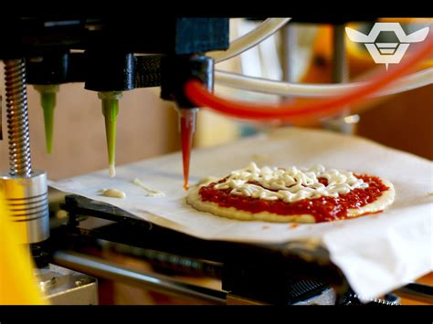 cuisines 3d 3d print me a space pizza a few questions for beehex