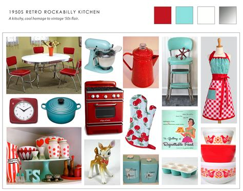 cherries kitchen accessories collage of retro 50s kitchen ideas kitchen chic 2139