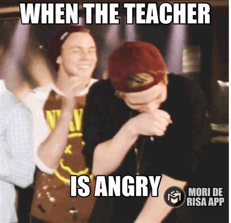 5sos Memes - 5sos funny meme teacher lukehemmings ashtonirwin