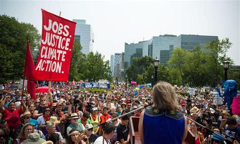 'Historic' Toronto climate march calls for new economic ...