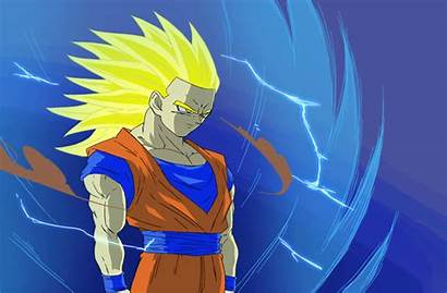 Goku Cool Ssj3 Fan Saiyan Dragon Ball