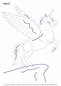 Step by Step How to Draw a Unicorn with Wings ...