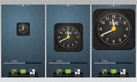 android clock widget iphone clock as android widget by vineetsirohi on deviantart