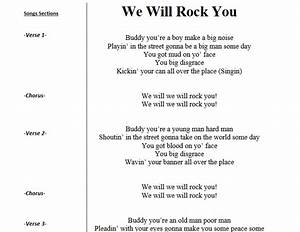 We Will Rock You Queen Song Lyrics